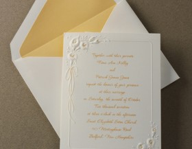 Helpful Hints for Selecting Wedding Invitations